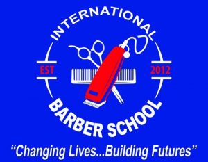 International Barber School logo