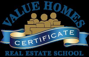 Value Homes Real Estate School logo