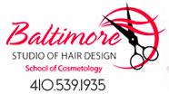 Baltimore Studio of Hair Design logo