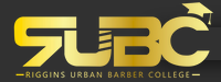 Riggins Urban Barber College logo