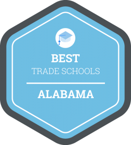 Best trade schools in Alabama badge