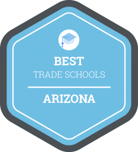 Best trade schools in Arizona badge