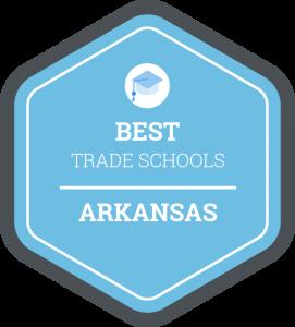 Best trade schools in Arkansas badge