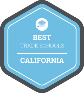 Best trade schools in California badge