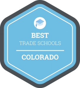 Best trade schools in Colorado badge