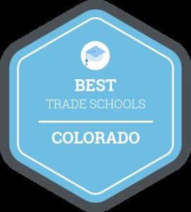 Best trade schools in Colorado badge