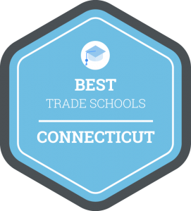 Best trade schools in Connecticut badge