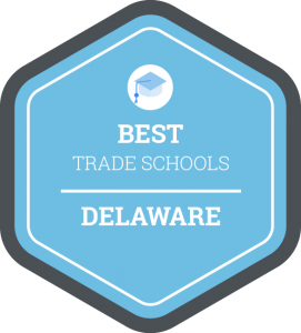 Best trade schools in Delaware badge