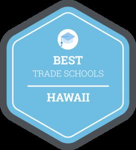 Best trade schools in Hawaii badge