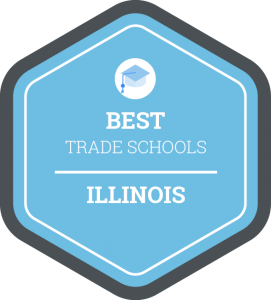 Best trade schools in Illinois badge