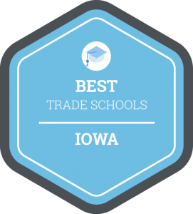 Best trade schools in Iowa badge