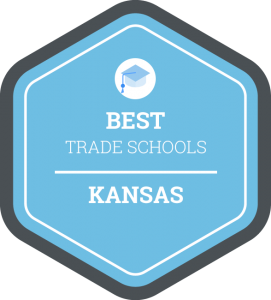 Best trade schools in Kansas badge