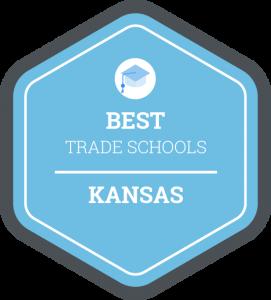 Best trade schools in Kansas badge