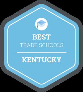 Best trade schools in Kentucky badge