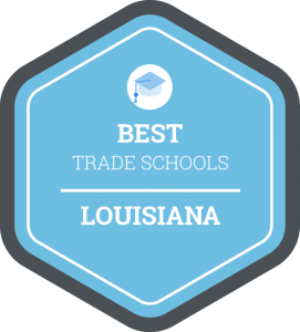 Best trade schools in Louisiana badge