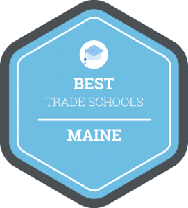 Best trade schools in Maine badge