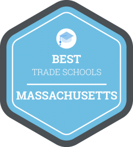 Best trade schools in Massachusetts badge