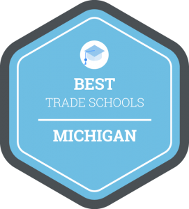 Best trade schools in Michigan badge