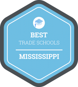 Best trade schools in Mississippi badge