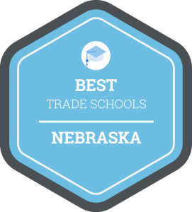 Best trade schools in Nebraska badge