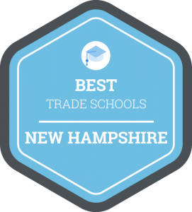 Best trade schools in New Hampshire badge