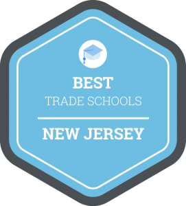 Best trade schools in New Jersey badge