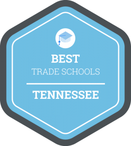 Best trade schools in Tennessee badge