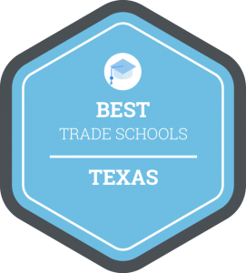 Best trade schools in Texas badge