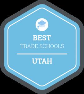 Best trade schools in Utah badge