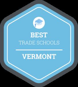 Best trade schools in Vermont badge