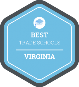 Best trade schools in Virginia badge
