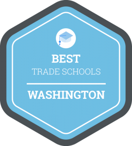 Best trade schools in Washington badge