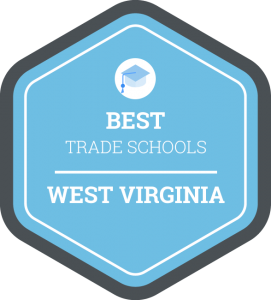 Best trade schools in West Virginia badge