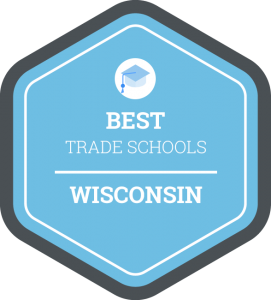 Best trade schools in Wisconsin badge
