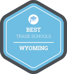 Best trade schools in Wyoming badge