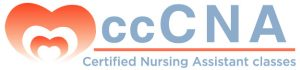 The ccCNA Certified Nursing Assistant Classes logo