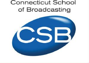 Connecticut School of Broadcasting logo