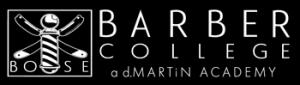 Boise Barber College a d.MARTiN Academy logo