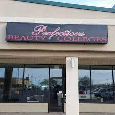 Perfections Beauty Colleges logo