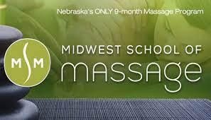 Midwest School of Massage logo