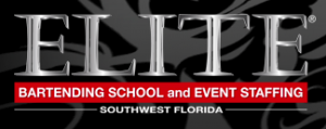 Elite Bartending School and Event Staffing logo