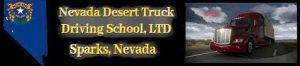 Nevada Desert Truck Driving School, LTD logo