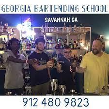 Georgia Bartending School logo