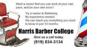 Harris Barber College logo
