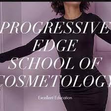 Progressive Edge School of Cosmetology logo
