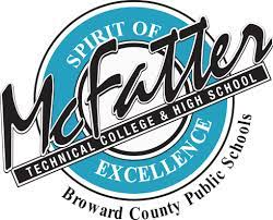 McFatter Technical College and High School logo