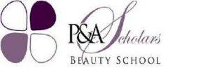 P&A Scholars Beauty School logo