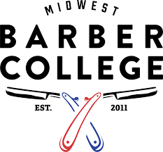 Midwest Barber College logo