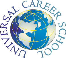 Universal Career School logo