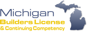 Michigan Builders License & Continuing Competency logo